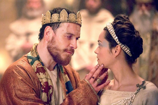 Michael Fassbender (Macbeth) et Marion Cotillard (Lady Macbeth)... (Fournie par The Weinstein Company)