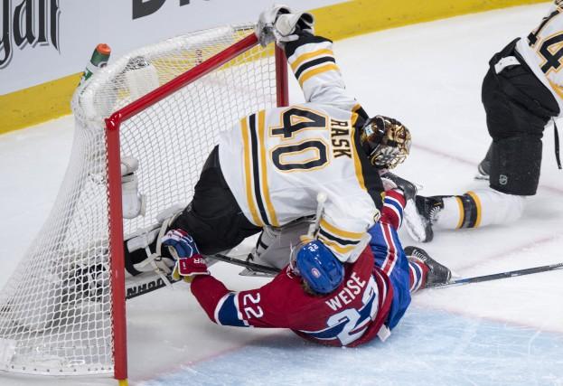 Tuukka Rask a pris les grands moyens pour... (La Presse Canadienne)