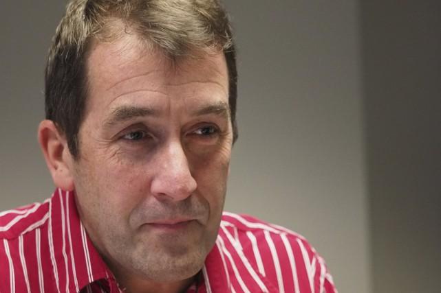 Le président de Val-des-Cerfs, Paul Sarrazin, s'inquiète de... (photo Alain Dion)