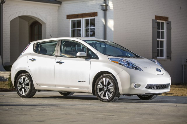 La Nissan Leaf... (PHOTO FOURNIE PAR NISSAN)