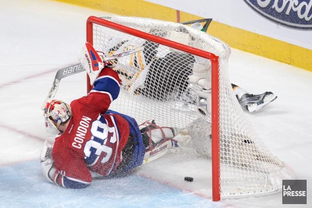 Loui Eriksson a marqué le premier but des... (Photo Bernard Brault, La Presse)