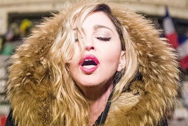 Madonna a fait cadeau d'une performance publique la... (PHOTO TIRÉE D'INSTAGRAM)