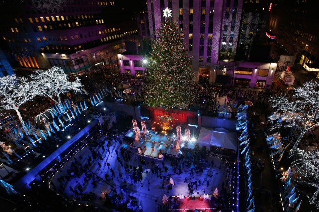 Le sapin du Rockefeller Center, à New York, a... (Photo Mike Segar, archives reuters)