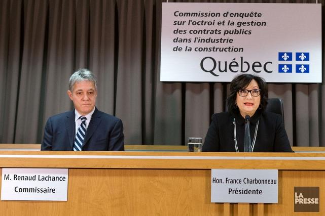 Les commissaires Renaud Lachance etFrance Charbonneau.... (PHOTO ROBERT SKINNER, ARCHIVES LA PRESSE)