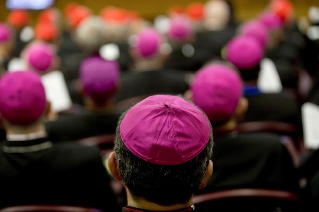 L'Église considère en effet que le salut ne... (PHOTO ALESSANDRA TARANTINO)