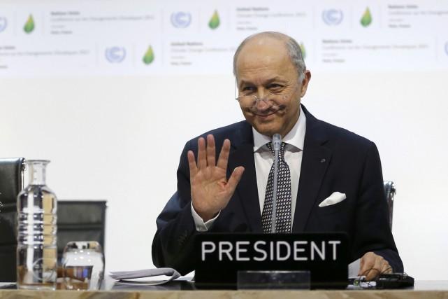 Le chef de la diplomatie française et président... (PHOTO STÉPHANE MAHÉ, ARCHIVES REUTERS)