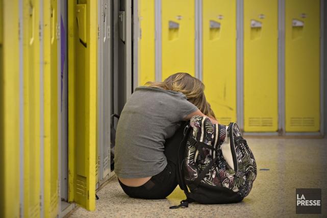 Les enfants qui sont exposés à l'intimidation sont ensuite plus susceptibles de... (Archives La Presse)