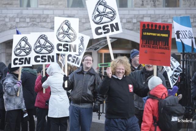 La FSSS-CSN représente 110 000 personnes.... (Photo Jean-Marie Villeneuve, Archives Le Soleil)