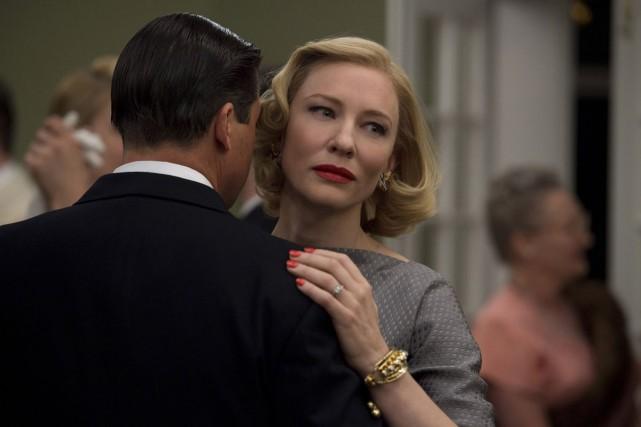 Kyle Chandler et Cate Blanchett dans une scène... (Fournie par The Weinstein Company)