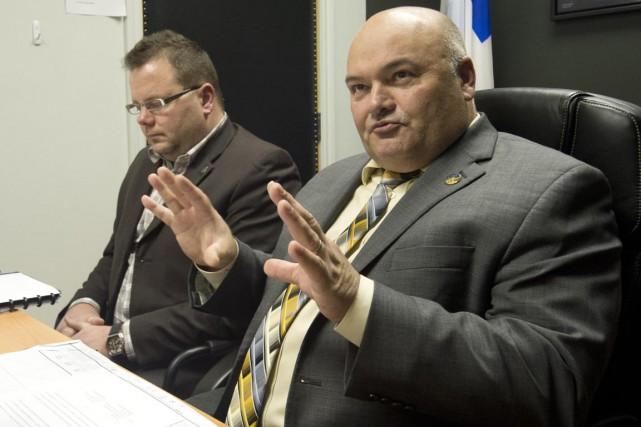 Martin St-Pierre, directeur général de la CCIS et... (Sylvain Mayer)