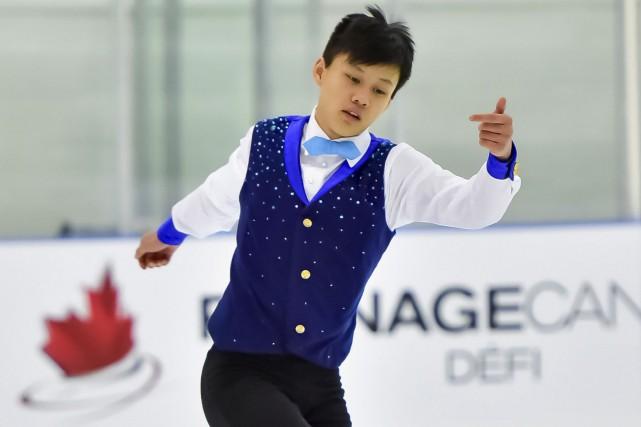 Joseph Phan devrait recevoir une première affectation internationale... (Courtoisie, Skate Canada)