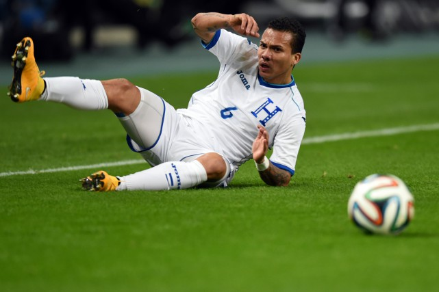 Arnold Peralta... (Photo archives AFP)