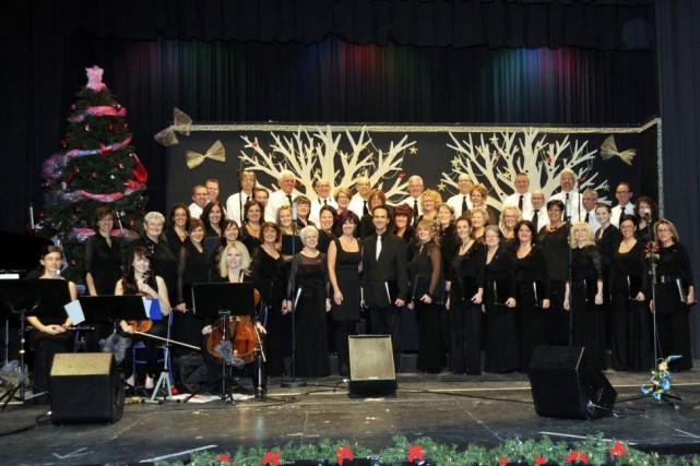 La Chorale du CRDA chantera au profit de... (Photo courtoisie)