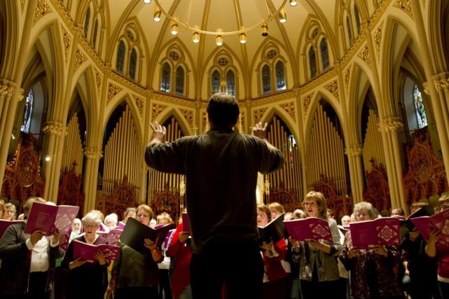 L'Orphéon présentera son concert de Noël ce dimanche... (Archives, Sylvain Mayer)