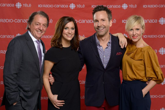 Jean-Luc Mongrain et Marie-Soleil Michon coanimeront le talk-show... (Fournie par ICI Radio-Canada Télé)