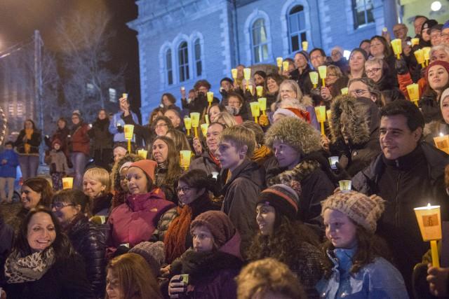 La 50e vigile pour Raif Badawi se tenait... (Spectre Média, Julien Chamberland)