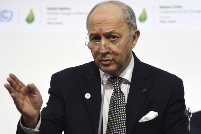 Le chef de la diplomatie française et président... (Dominique Faget, Archives AFP)
