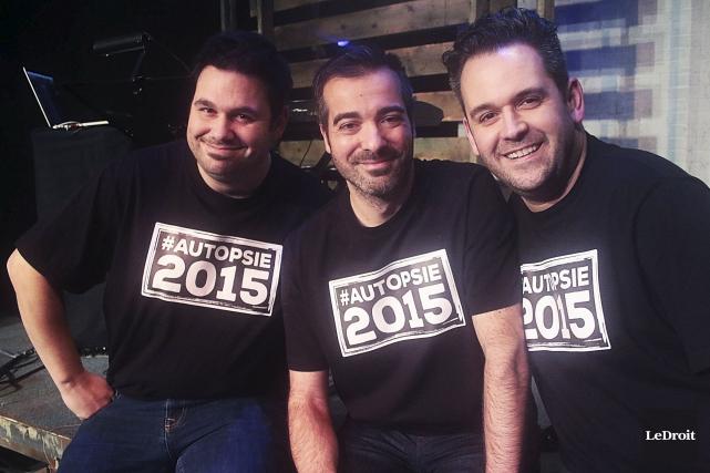 Le trio formé de Jean-Denis Scott, David Thibodeau... (Etienne Ranger, LeDroit)