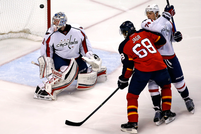 Jaromir Jagr (68) a marqué son 731e but en... (Photo Robert Mayer, USA Today)