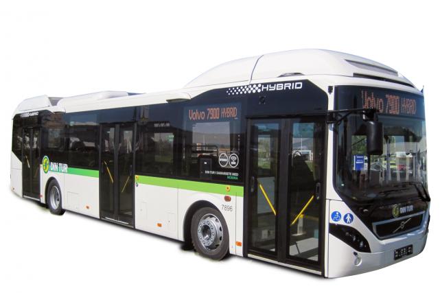 La suédoise Volvo Bus va mettre ses autobus hybrides en service en Inde en 2016. (Photo fournie par Volvo Bus)