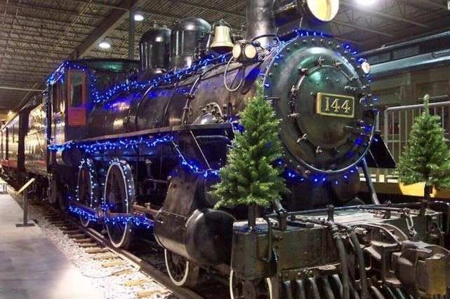 Pour les Fêtes, les wagons d'Exporail, musée ferroviaire... (PHOTO TIRÉE DU SITE D'EXPORAIL)