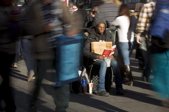Selon l'étude, le pourcentage des Américains dont les... (PHOTO CARLO ALLEGRI, ARCHIVES REUTERS)