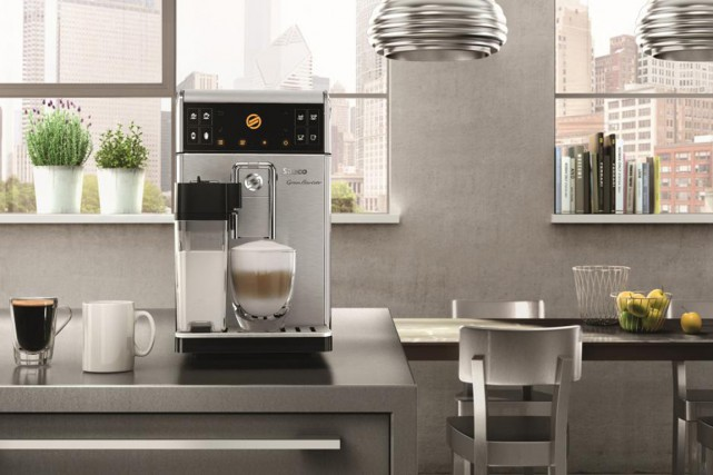 La cafetière automatique Gran Barista Avanti, de Saeco,... (PHOTO FOURNIE PAR PHILIPS)
