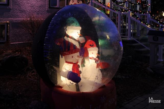 Tout est en place pour que les Estriens vivent un Noël sans neige, que les... (Archives La Presse)