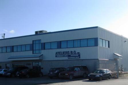 L'entreprise Ateliers B.G. doit encore agrandir ses installations afin... (Photo fournie)