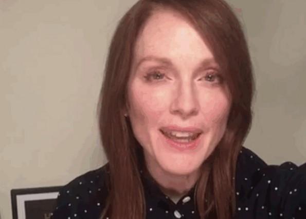 Julianne Moore dans la vidéo«We Can End Gun... (IMAGE TIRÉE D'UNE VIDÉO)