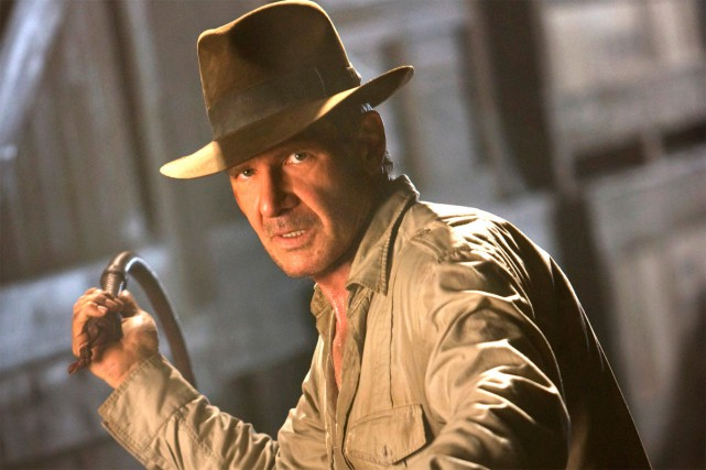 Harrison Ford dans le rôle d'Indiana Jones.... (PHOTO PARAMOUNT PICTURES)