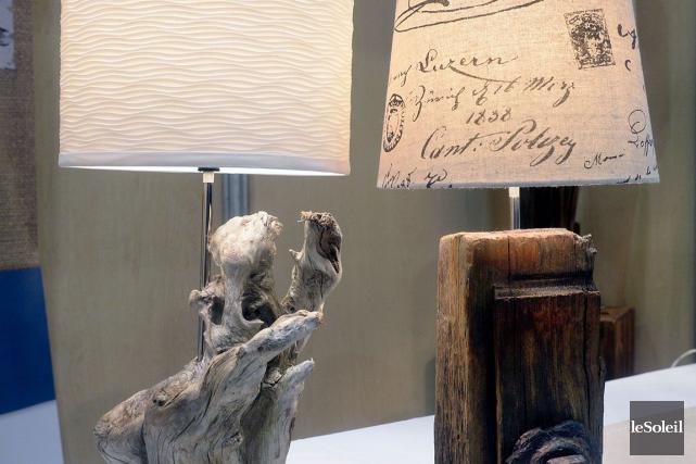 Lampes de bois de grève et bois de... (Le Soleil, Jean-Marie Villeneuve)