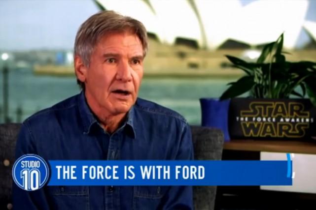 «C'est un film, Donald!»: une vidéo de l'acteur Harrison Ford se moquant de... (CAPTURE D'ÉCRAN)