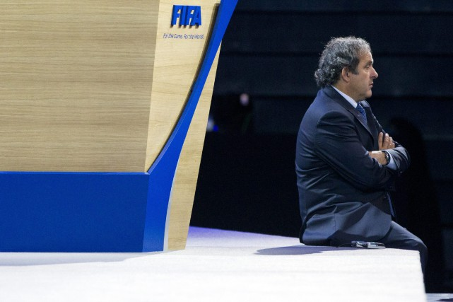 Michel Platini a perdu son appel devant le... (PHOTO ARCHIVES AP)