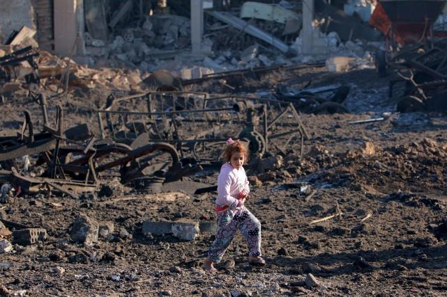 L'Observatoire syrien des droits humains, établi en Grande-Bretagne,... (Photo Rodi Said, Reuters)