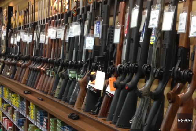 Dans le projet de loi sur le registre des armes à feu au Québec (un projet de... (Archives Le Quotidien)