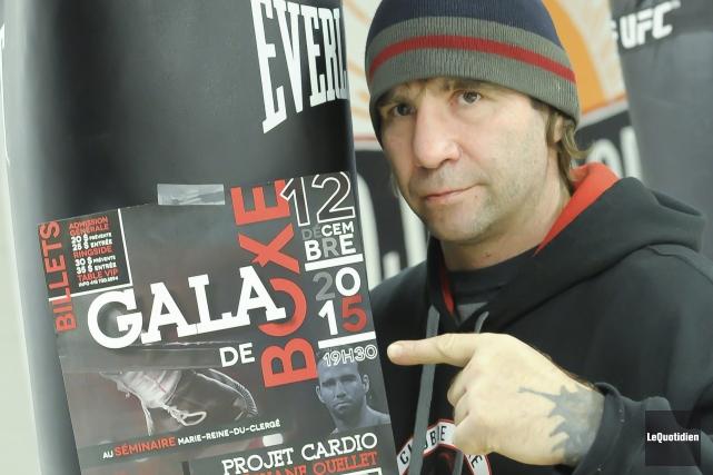 Stéphane Ouellet, entraîneur du club Projet Cardio d'Alma,... (Photo Le Quotidien, Gimmy Desbiens)
