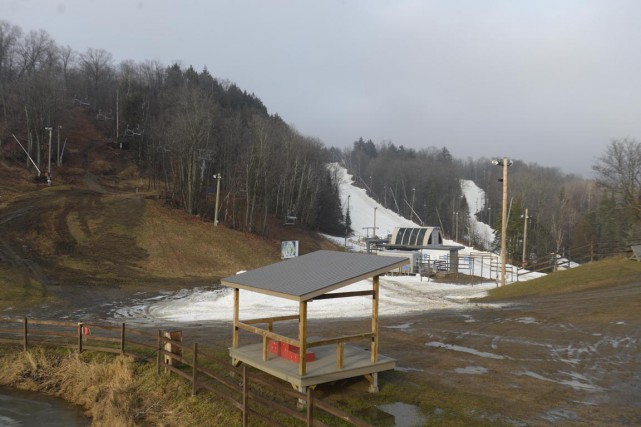 À la station de ski Vallée du Parc,... (Sylvain Mayer)