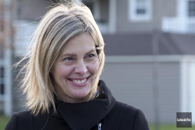 Suzanne Surette se dit consciente des responsabilités associées... (Alain Dion, La Voix de l'Est)