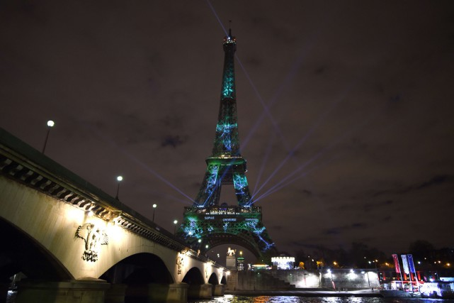 La Tour Eiffel... (PHOTO AFP)