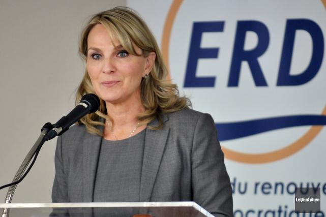 La chef de l'Équipe du renouveau démocratique (ERD),... (Archives Le Quotidien)