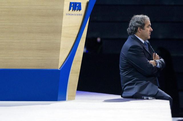 Michel Platini a perdu son appel devant le... (Archives AP)