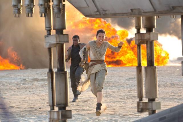 Pour Star Wars épisode VII - Le réveil... (Fournie par Disney)