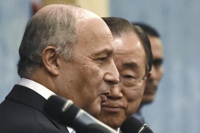 Le président de la COP21 et chef de... (Dominique Faget, AFP)