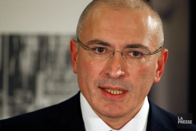 L'ex-oligarque russe Mikhaïl Khodorkovski a déjà passé 10... (Archives AP)