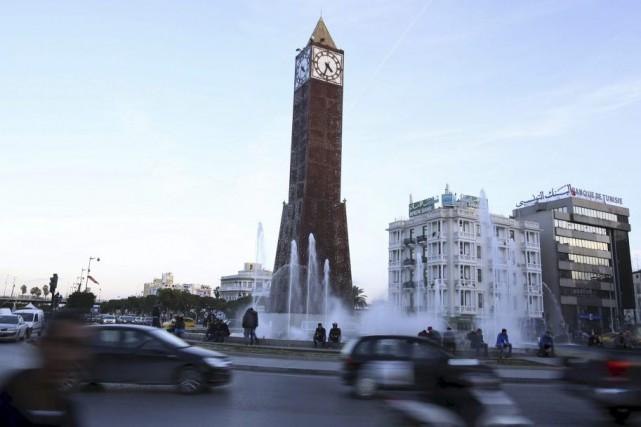 Le dernier couvre-feu dans la capitale tunisienne remontait... (PHOTO ZOUBEIR SOUISSI, REUTERS)