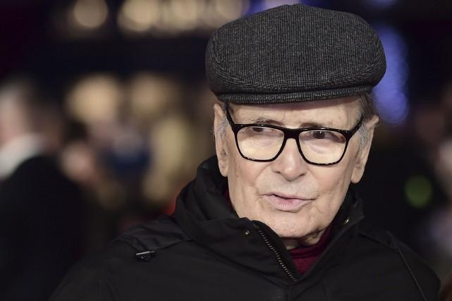 À 87 ans, Ennio Morricone avaitd'abord refusé de... (AFP, Leon Neal)