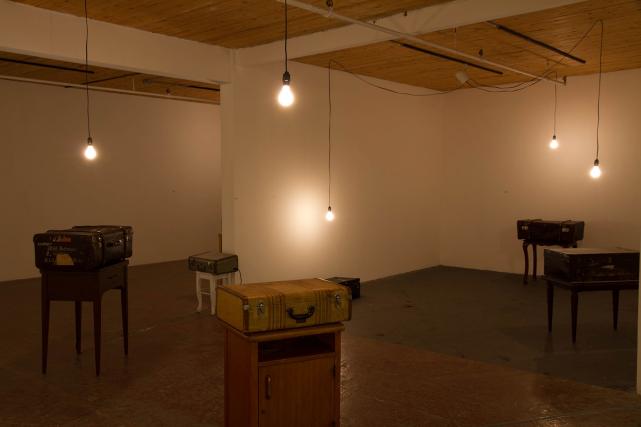 The Portable Sublime 3, 2003, d'Ingrid Bachmann, valise,... (Photo Paul Litherland, fournie par la galerie Art mûr)