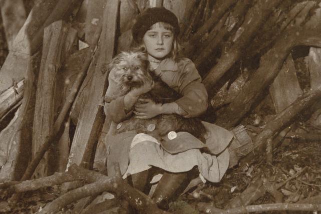 On voit ici Agatha Mary Clarissa Miller avec... (Photo The Christie Archive Trust, fournie par le musée Pointe-à-Callière)