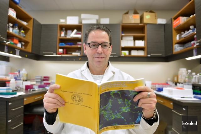 Le Dr André Marette est le premier Québécois... (Le Soleil, Yan Doublet)